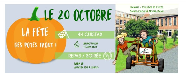 4h Cuistax @ Collège Saint-Croix et Notre-Dame de Hannut