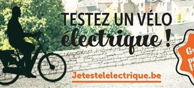 Testez un vélo électrique