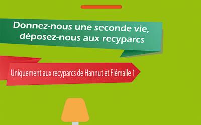 La Ressourcerie du Pays de Liège s'invite au recyparc de Hannut !