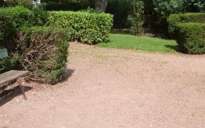 Verdissement d'un espace public – Réaménagement du parc de la Halette