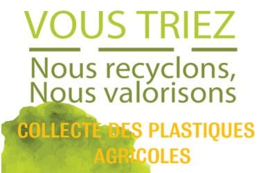 Campagne de collecte des déchets de plastiques agricoles