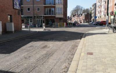 🚧 Travaux carrefour des rues de Tirlemont, des Vieux Remparts et avenue de Thouars 🚧