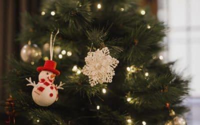 Collecte des sapins de Noël