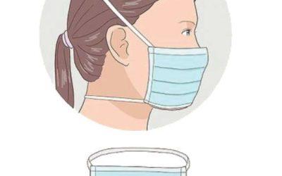 Comment porter le masque que vous avez reçu ?