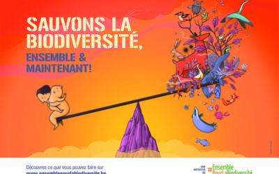 Sauvons la biodiversité ensemble et maintenant