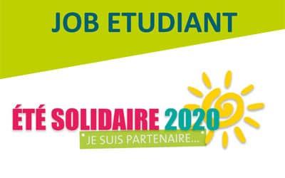 CANDIDATURE – Été solidaire, je suis partenaire 2020