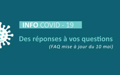 COVID-19 – Des réponses à vos questions
