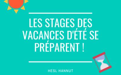 Stages de vacances HESL