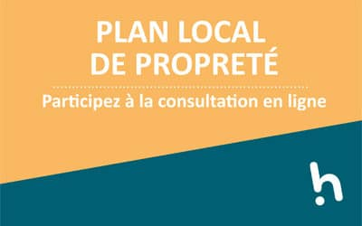 Plan local propreté – seconde consultation