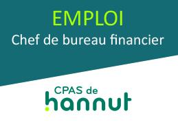 Emploi CPAS – Chef de bureau financier