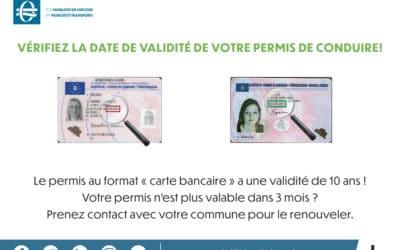 Renouvellement administratif du permis de conduire
