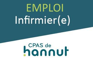 RECRUTEMENT Infirmier(e) (H/F) CPAS de HANNUT